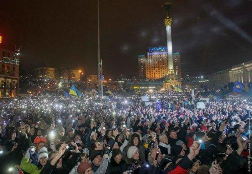 Новогодний Майдан: как это было