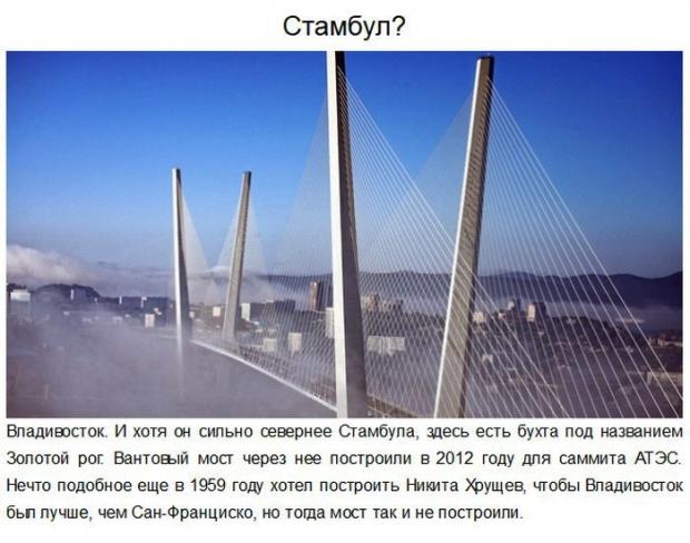 Красивые места в России