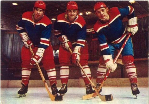 Фото хоккейного противостояние СССР - Канада