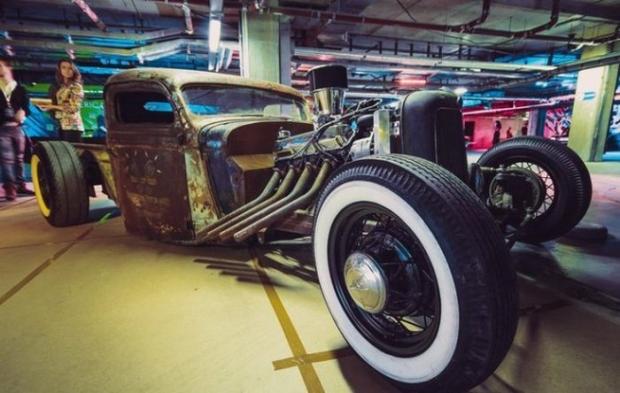 Выставка старых авто